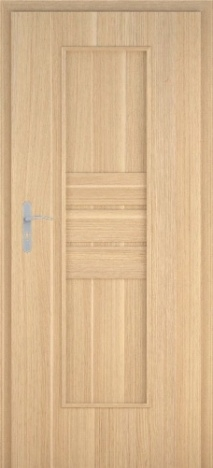 Usa interior Impact - Natural oak vertical - model 1