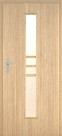 Usa interior Demeter - Natural oak vertical - model 1