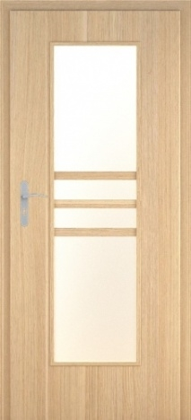 Usa interior Demeter - Natural oak vertical- model 2