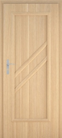 Usa interior Antiope - Natural oak vertical - model 1